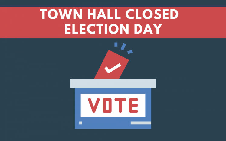 town hall closed on election day